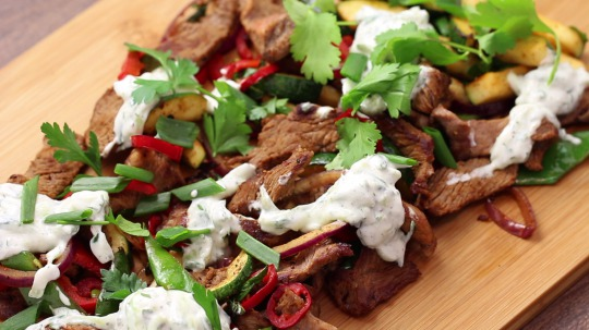 Rezept: Low Carb Gyros with Homemade Tzatiziki