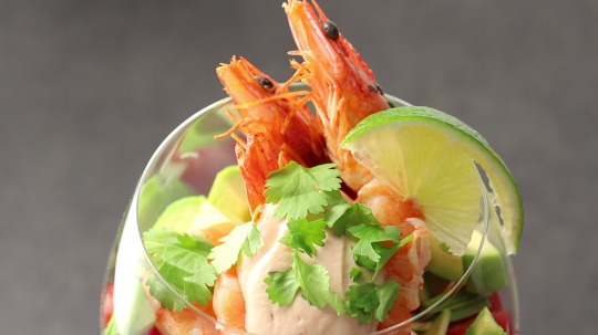 Rezept: Low Carb Shrimp Salad