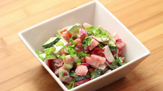 Rezept: Low Carb Fitness Quarksalat