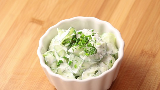 Rezept: Low Carb Gurkensalat