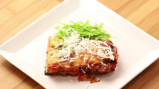 Recipe: Low Carb Eggplant casserole with parmesan cheese