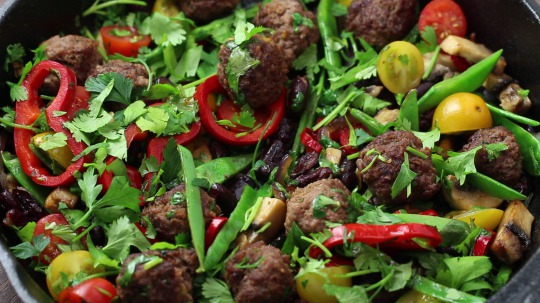 Rezept: Low Carb Tex Mex Meat Balls