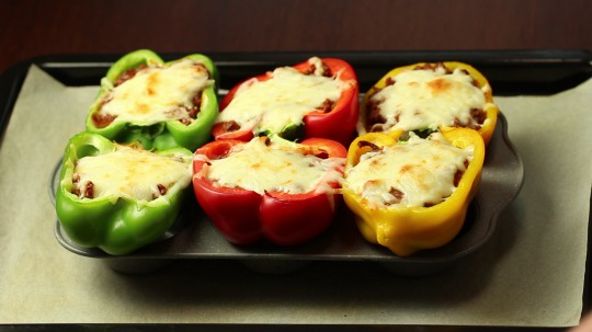 Recipe: Low Carb Stuffed Bell Peppers