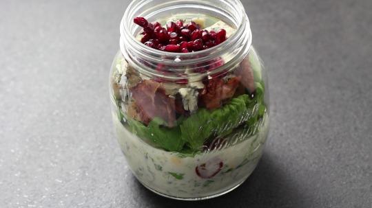 Rezept: Low Carb Amerikanischer Cobb-Salat