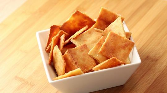 Rezept: Parmesan Cracker