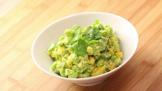 Rezept: Low Carb Edamame Salat
