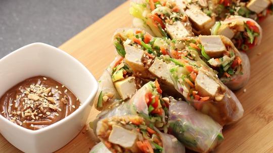 Rezept: Vietnamese Spring Rolls
