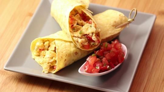 Rezept: Breakfast burrito