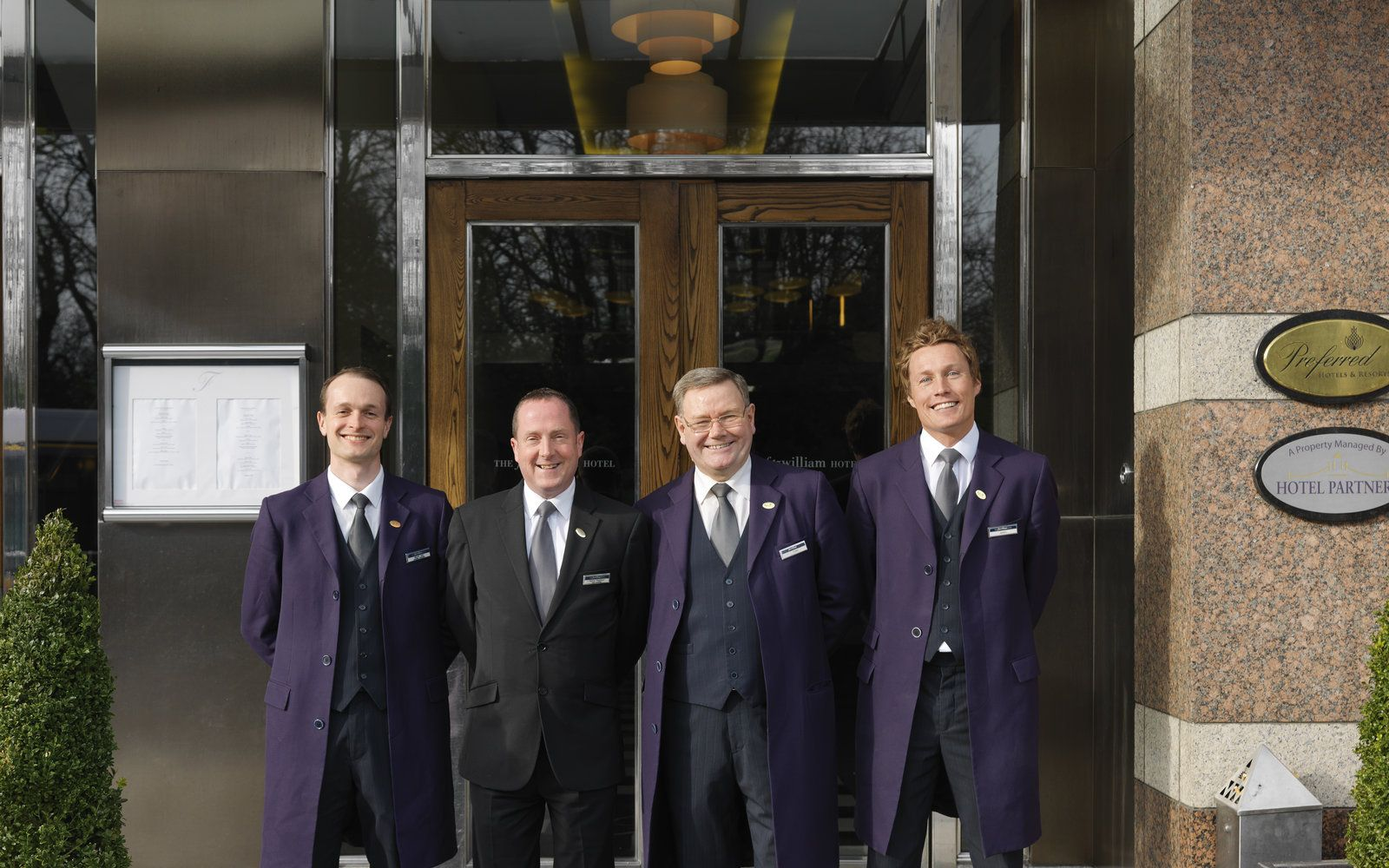 Concierge Team at The Fitzwilliam Hotel Dublin
