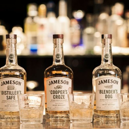 Jameson Whiskey at Inn on the Green Bar