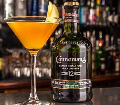 Connemara Whiskey Cocktail at Inn on the Green Bar