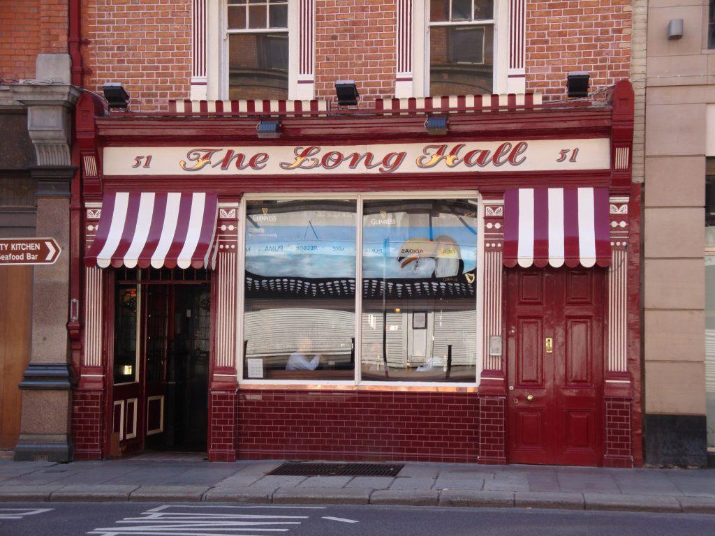 The Long Hall Pub Dublin