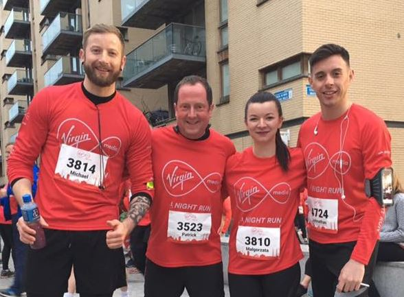 Fit-William Team Virgin media Night Run