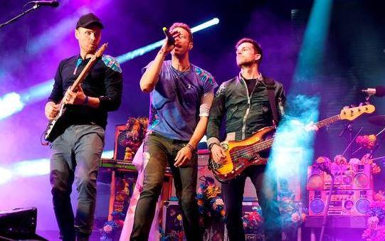 Coldplay Concert Croke Park Dublin 2017