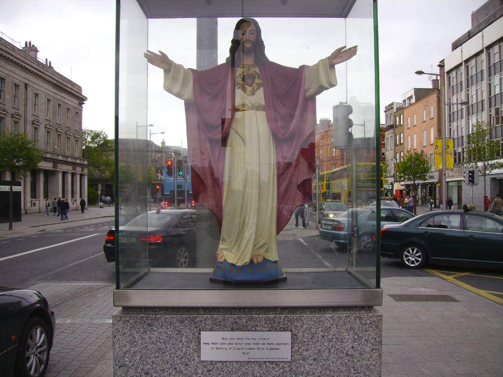 Taxi Driver's Shrine Dublin