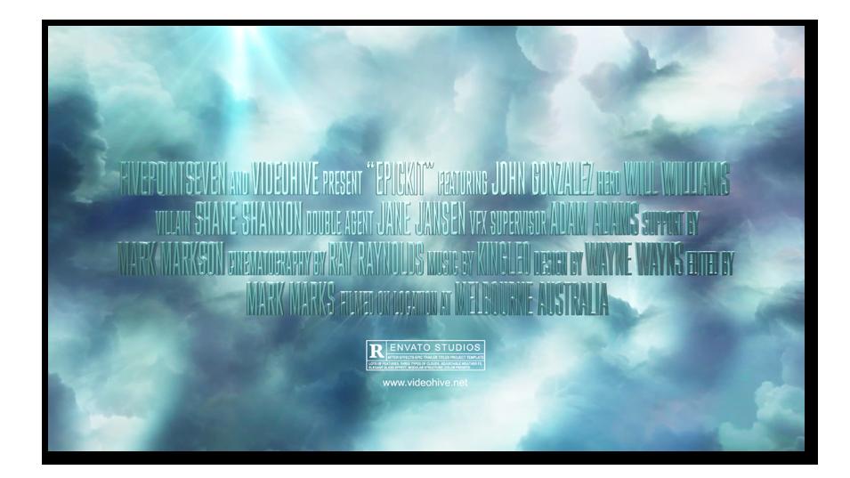 Epickit – Epic Trailer Kit (Sky, Clouds) After Effects Templates | F5-Design.com