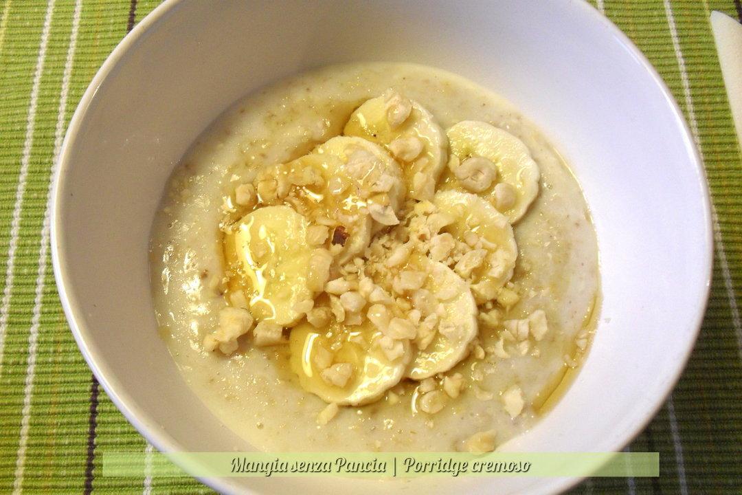 Porridge cremoso