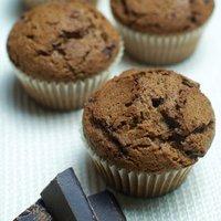 Muffin al cioccolato di Modica