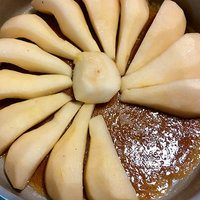Torta di pere al caramello-0
