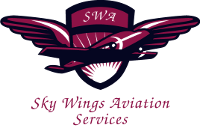 Sky Wings Aviation Services logo