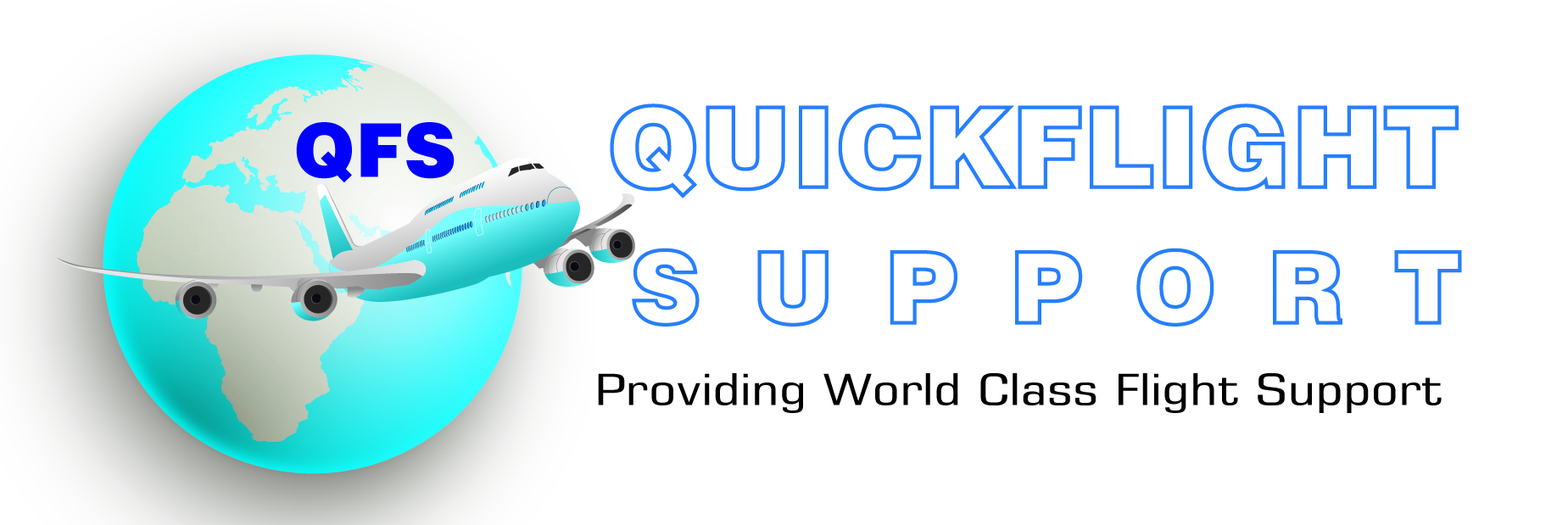 Quick Flight Support logo