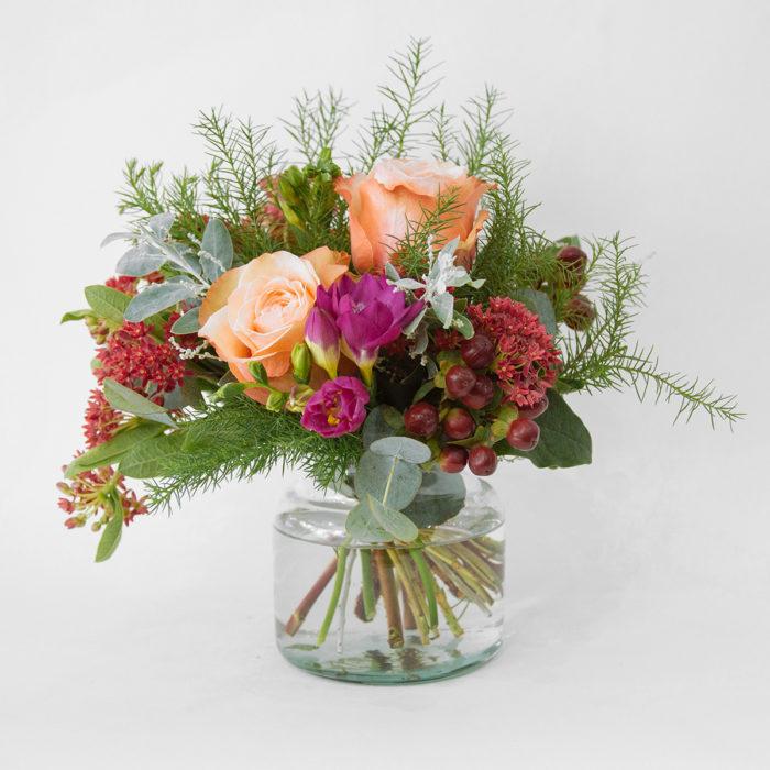 Floom Botanique Workshop Rose Freesia Vase 1