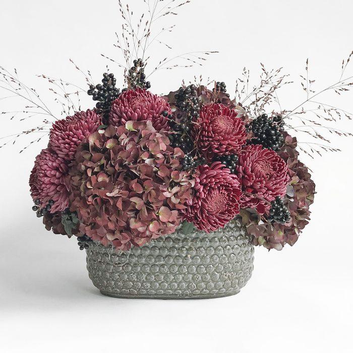 Floom Flowers By Kw Hydrangea Bowl 1