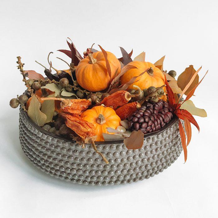 Floom Flowers By Kw Pumpkin Bowl 1