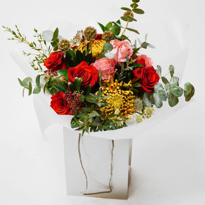 Floom Harleys Flowers Red Rose Chrysanthemum 1