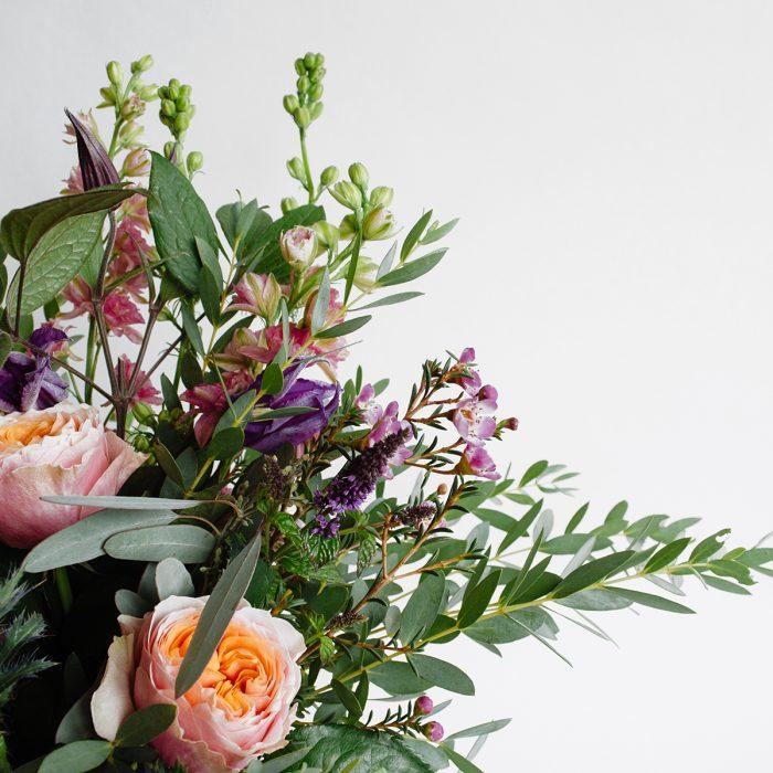 Floom Herbert Isles Earthenware Vase Rose Waxflower 4