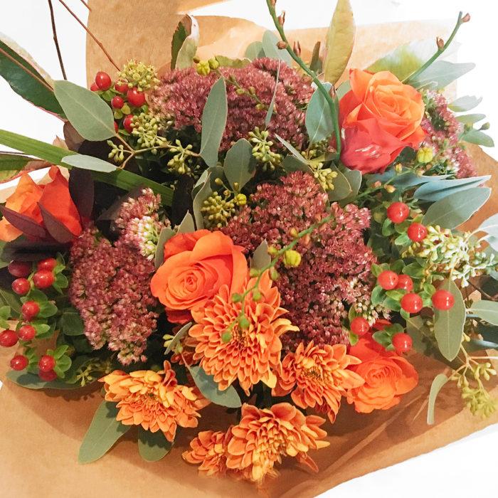 Floom Vintage Rose Autumn Bouquet 2