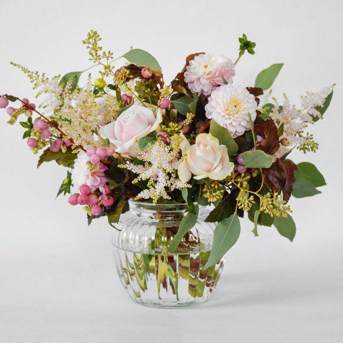 Floom Wabana Flowers Dahlia Hypericum Vase 1