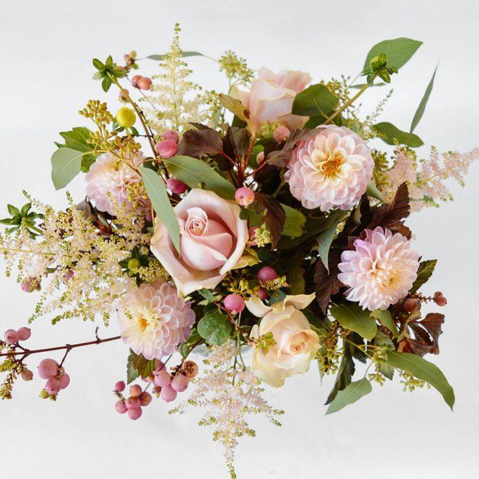 Floom Wabana Flowers Dahlia Hypericum Vase 2