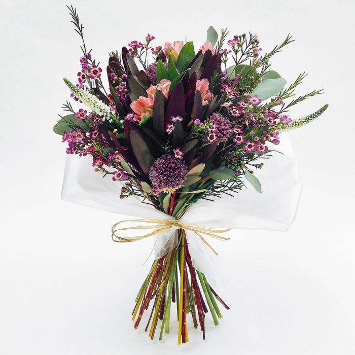 Floom With Fairest Flowers Purple Bouquet 1