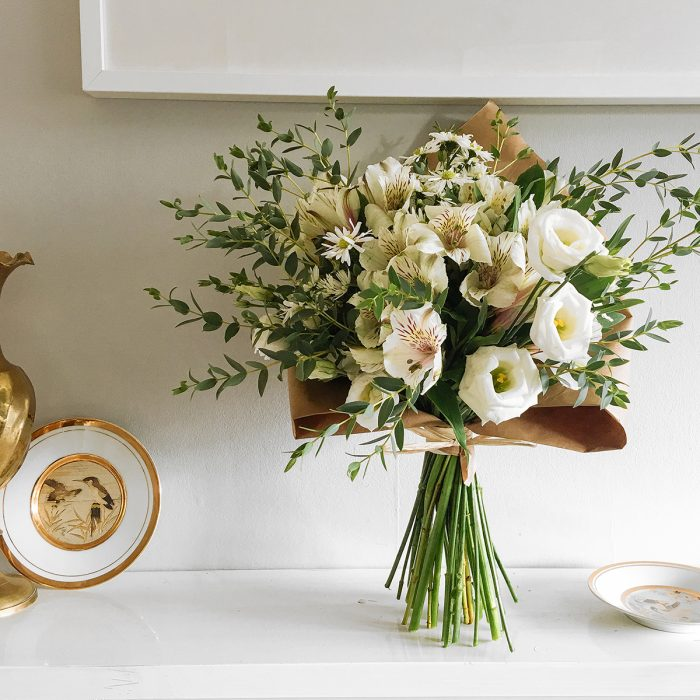 Floom With Fairest Flowers White Small Bouquet 3