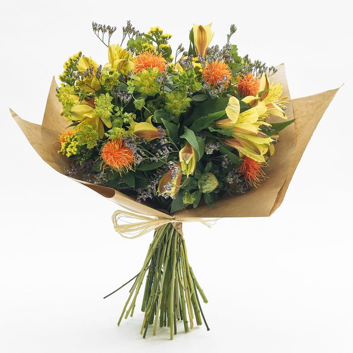 Floom With Fairest Flowers Yellow Bouquet 1