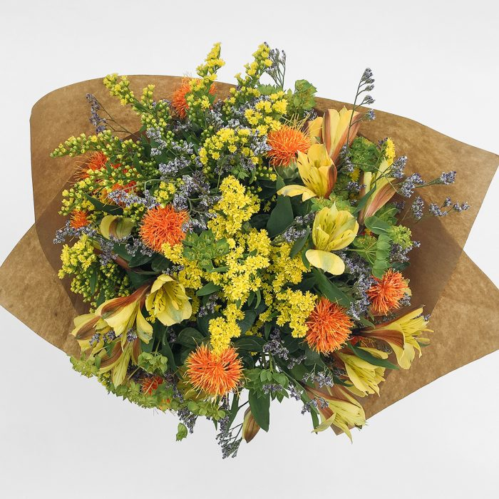 Floom With Fairest Flowers Yellow Bouquet 2