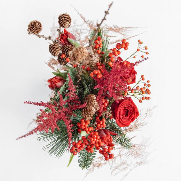 Floom Your London Florist Red Jam Jar 2