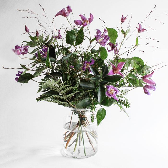 Floom Miss Moles Flower Emporium Purple Haze Clematis Grass 1