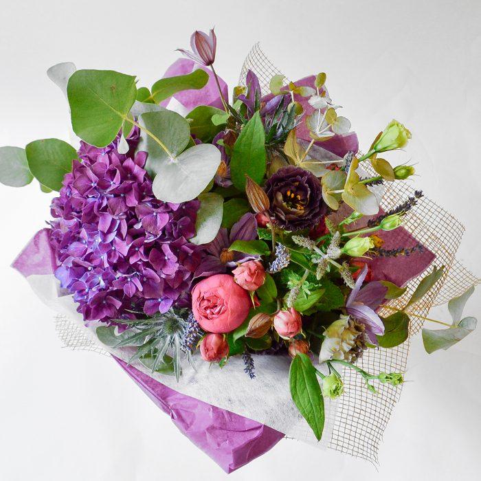 Floom Plantology Devonshire Green Rose Hydrangea Lavender 2