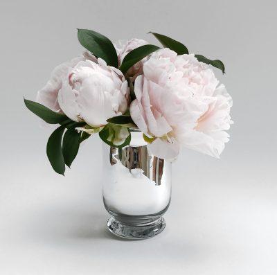 Floom Shilpa Reddy Peony Silver Vase 1