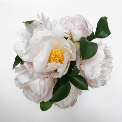 Floom Shilpa Reddy Peony Silver Vase 2