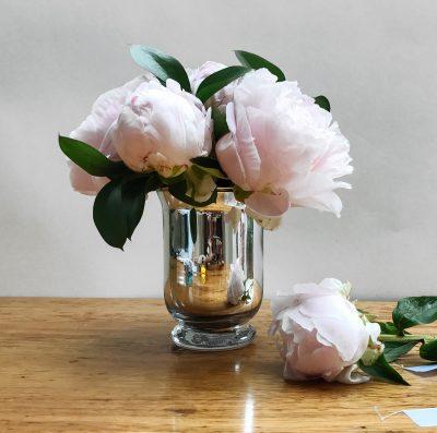 Floom Shilpa Reddy Peony Silver Vase 3