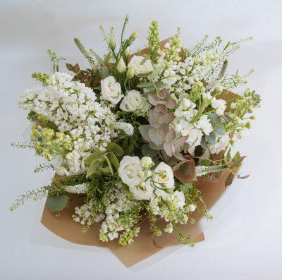 Floom Botanique Workshop Rose White Bouquet 3