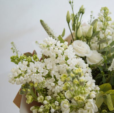 Floom Botanique Workshop Rose White Bouquet 4