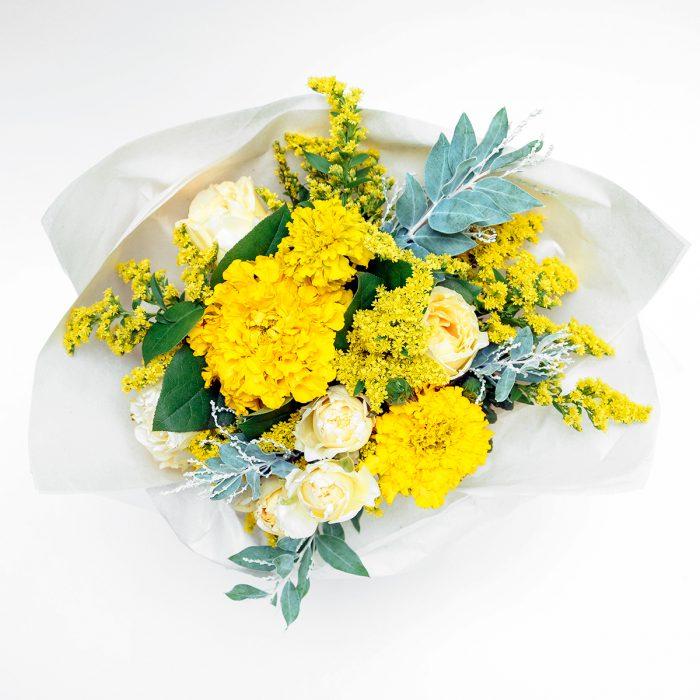 Floom Floys Flowers Rose Yellow 2
