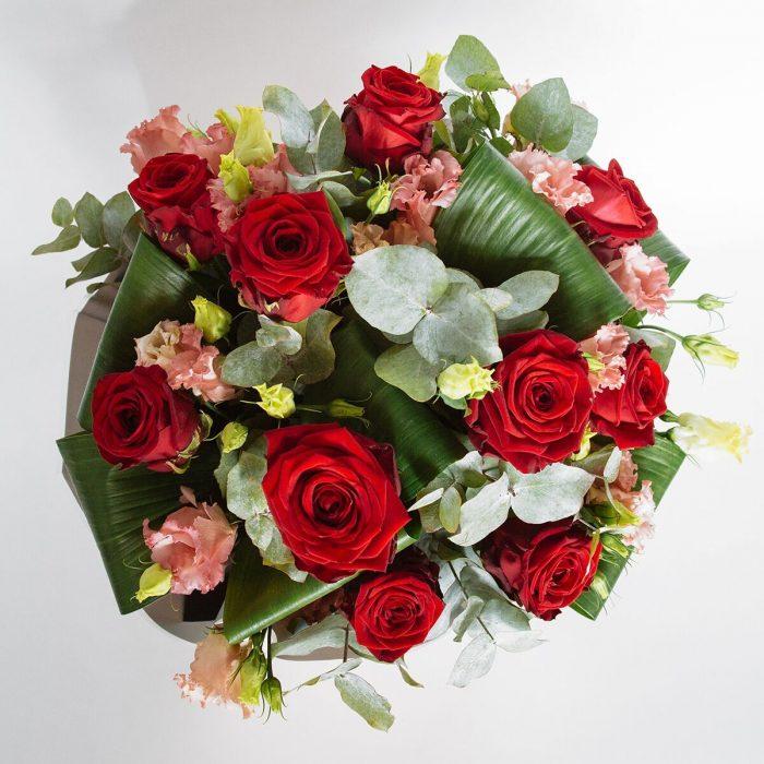 Floom Jamie Aston Rose Lisianthus 2