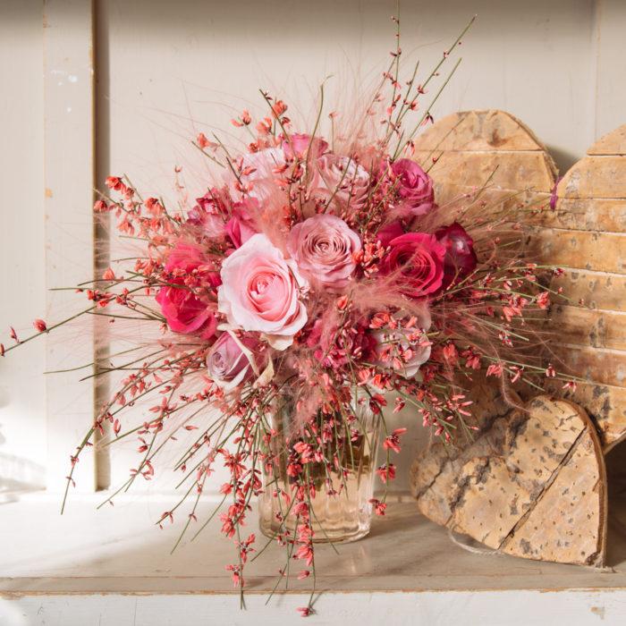 Floom Zita Elze Bouquet Pink Fluffy 2