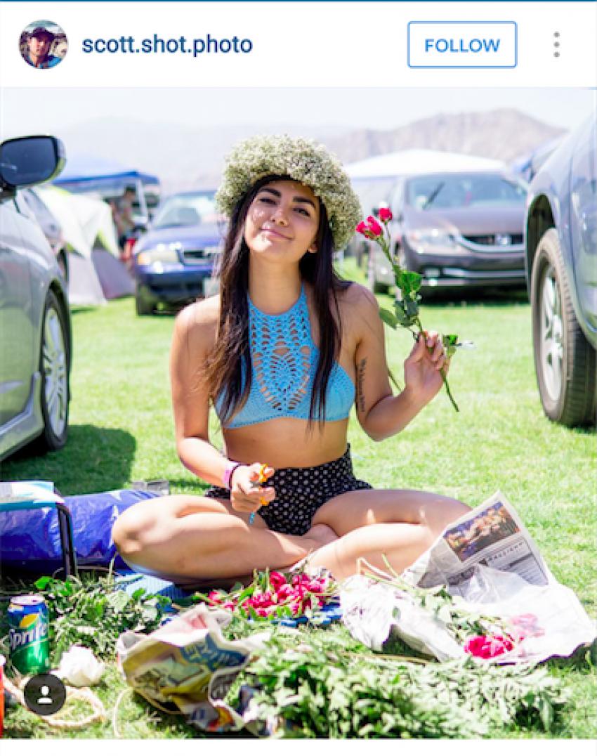 1 Floom Magazine Coachella Flower Crowns 5