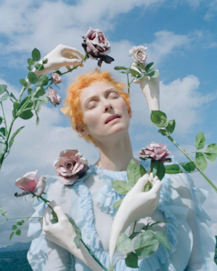 1 Floom Magazine Iconic Images Tilda Swinton Tim Walker For W Magazine 1